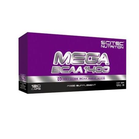 Mega BCAA 1400 120 caps