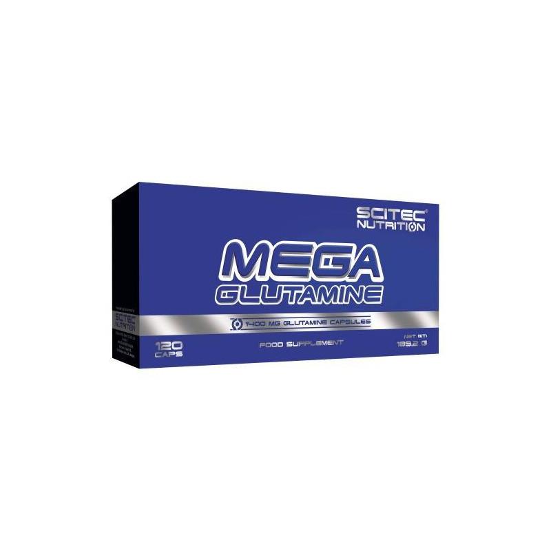 Scitec Mega Glutamine 140 caps