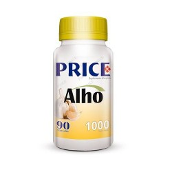 Alho 1000mg - 90 caps