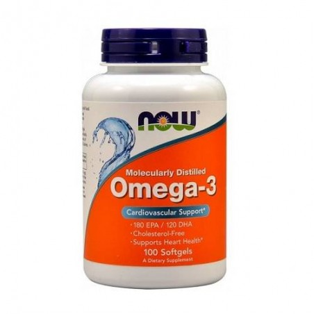 Now Foods Omega 3 100 softgels