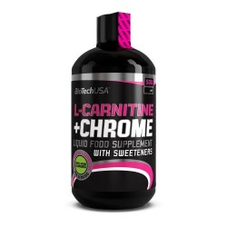 Liquid L-Carnitine + Chrome 500ml