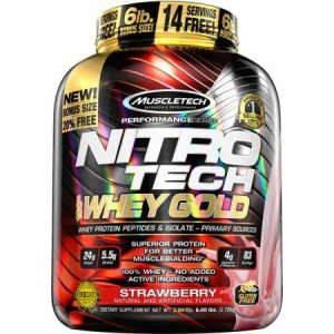 Nitro-Tech 100% Whey Gold 2720g