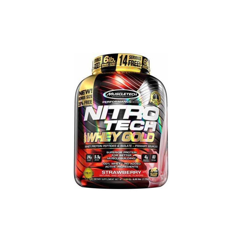 Nitro-Tech 100% Whey Gold 2720g