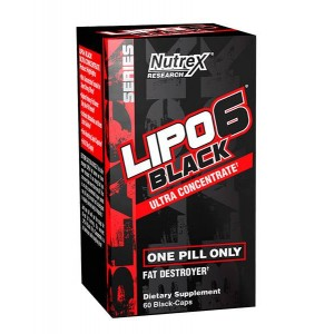 Nutrex LIPO-6 Black Ultra Concentrate USA 60 caps
