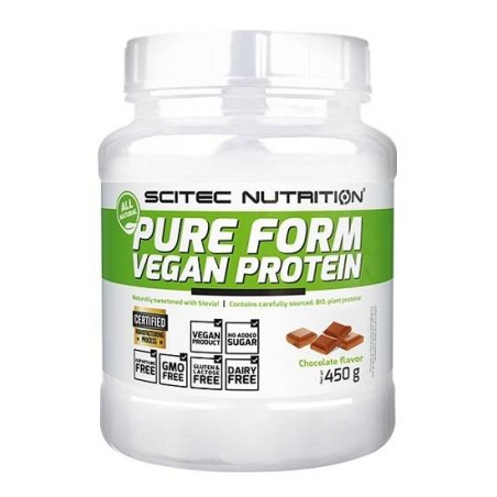 Pure Form Vegan Protein 450g