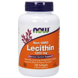 Lecithin 1200 mg 100 softgels