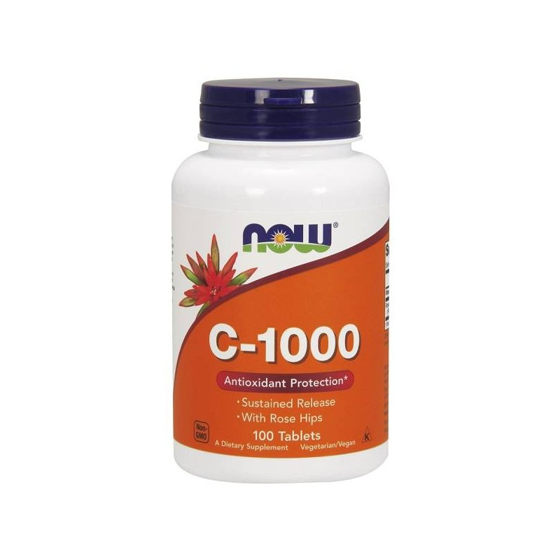 Now Foods C-1000 W/Rose Hips