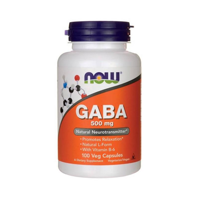 Now Foods GABA 500mg