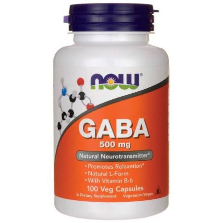 GABA 500mg 100 Vcaps