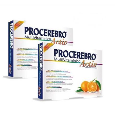 Pack 2 x Procerebro Multivitaminico Activ 30 Comp.