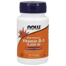 Vitamin D3 5000IU - 120 Sgel