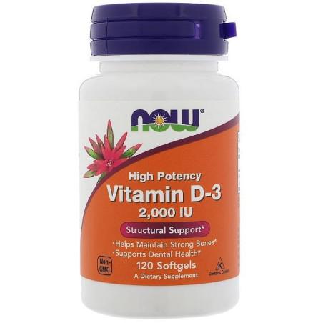 Vitamin D3 2000IU - 120 Sgels