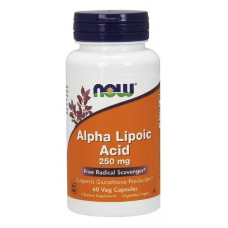Alpha Lipoic Acid 250 mg 60 vcaps