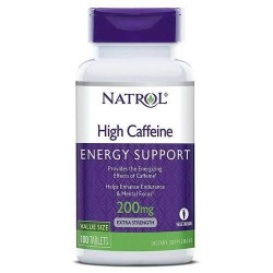 High Caffeine 200mg 100 tabs