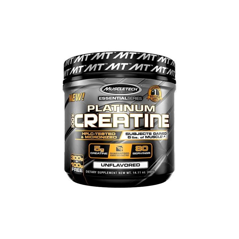 Platinum 100% Creatine 400g