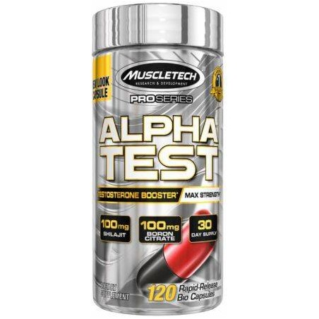 Pro Alpha Test 120 caps