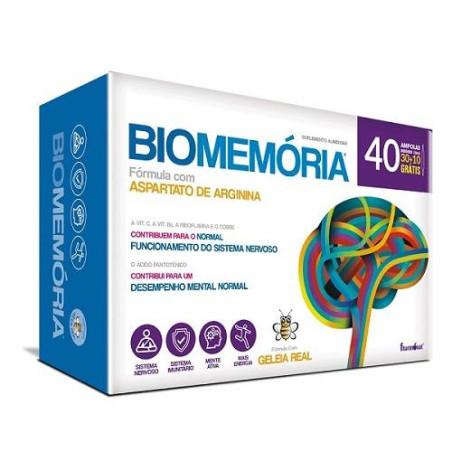 BioMemória 40 ampolas