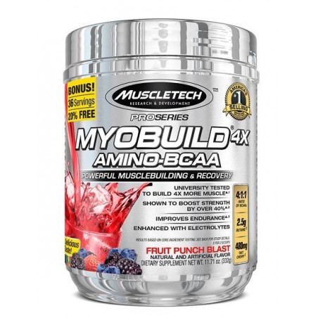 Pro Series Myobuild 4x 36 servings