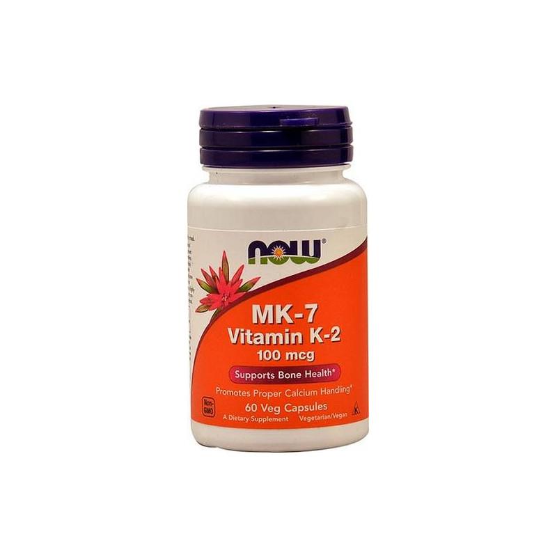 MK-7 Vitamin K-2 100 mcg 60 vcaps