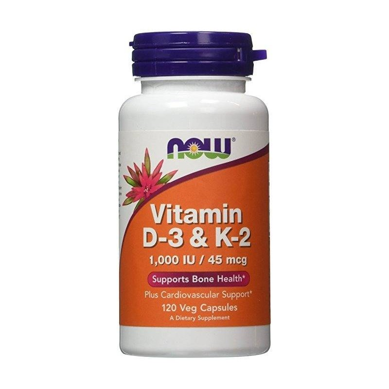 Now Foods Vitamin D-3 & K2