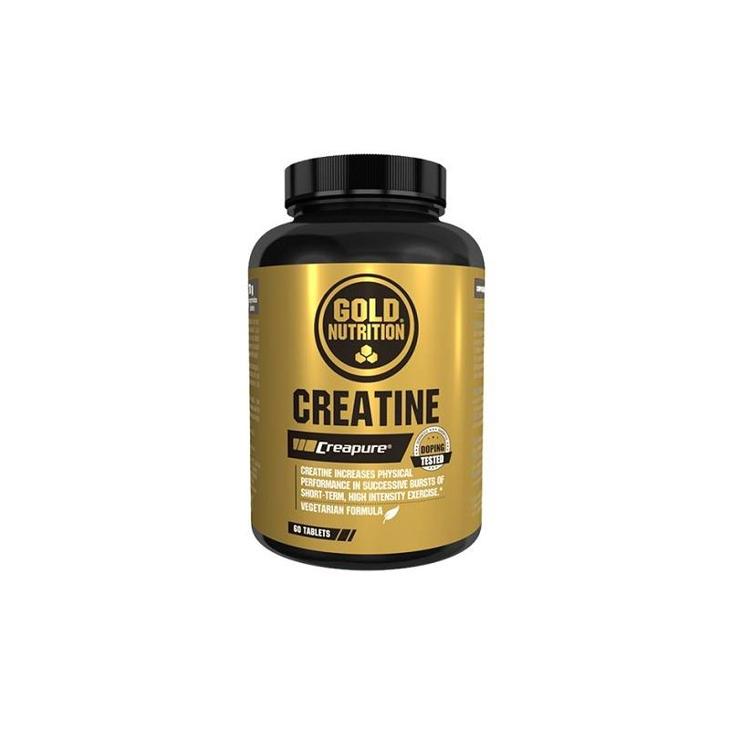GoldNutrition Creatine 60 comp