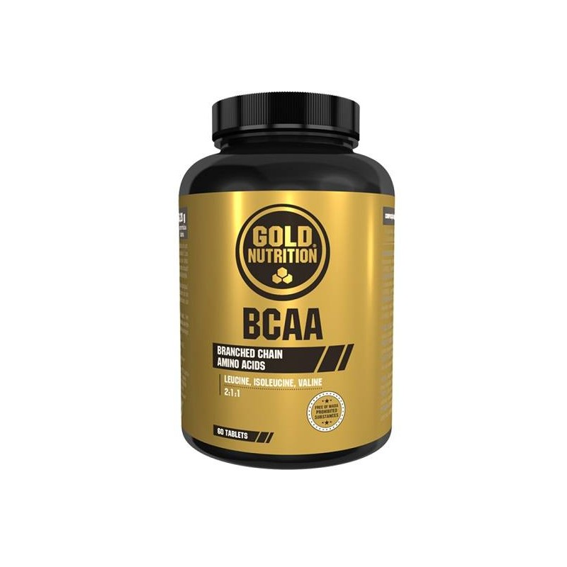 Gold Nutrition BCAA 60 tabs