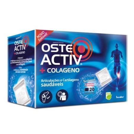 Osteo Activ + Colageno 20 saquetas