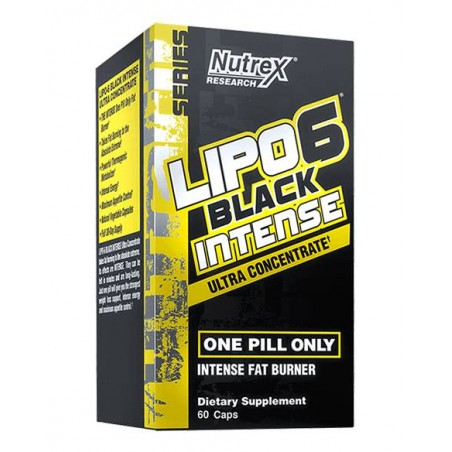 Lipo 6 Black Intense UC 60 cápsulas