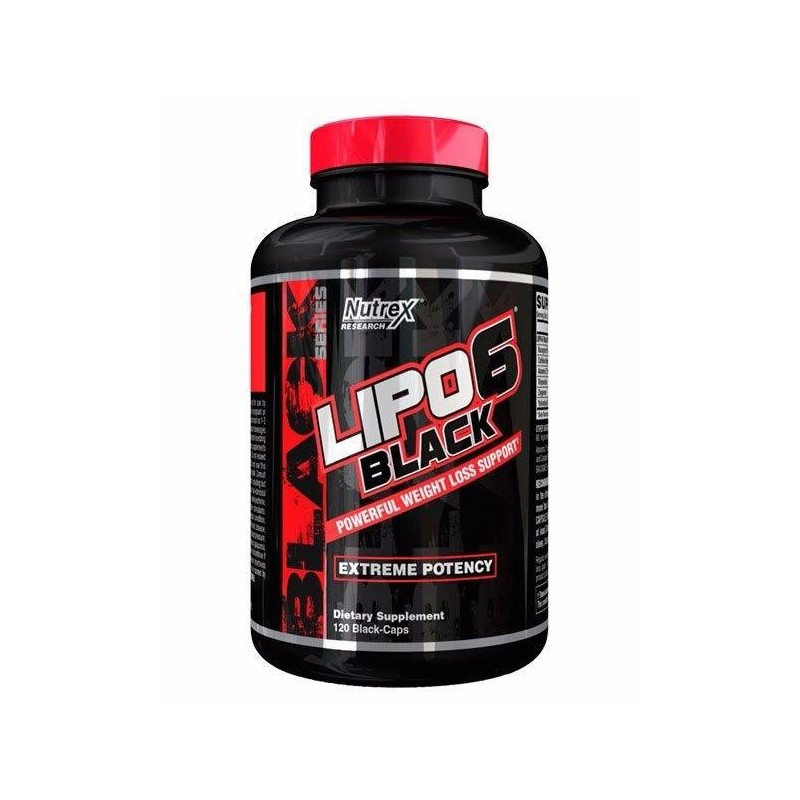 Nutrex Lipo 6 Black 120 caps