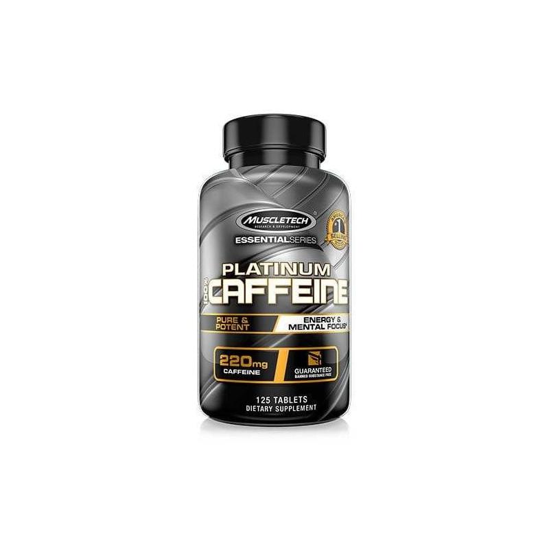 Platinum 100% Caffeine 125 caps