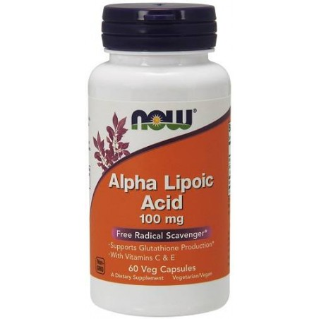 Alpha Lipoic Acid 100mg - 60 caps