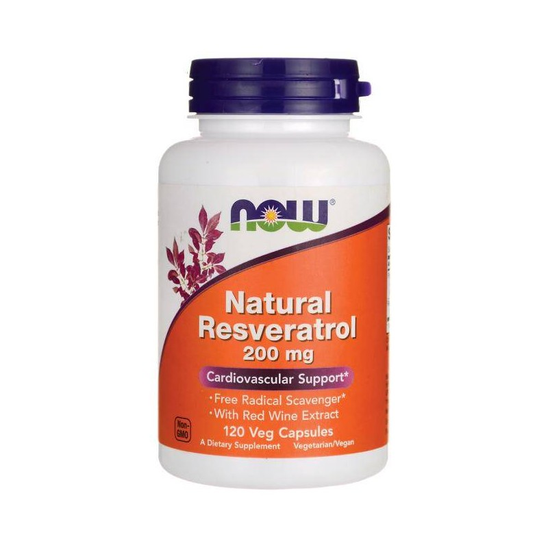 Now Foods Natural Resveratrol 200
