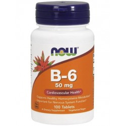 Now Foods B-6 50mg