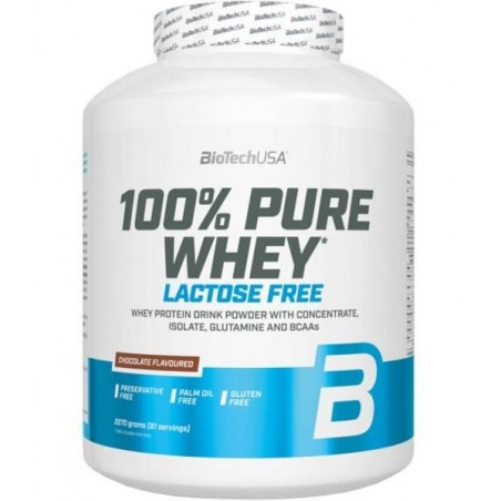 100% Pure Whey Lactose Free 2270g