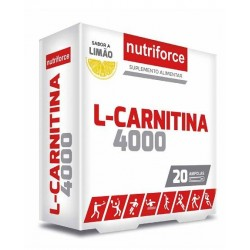 L-Carnitina 4000 - 20 Ampolas