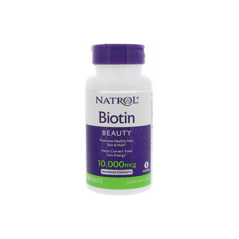 Biotin 10000mcg - 100 tabs