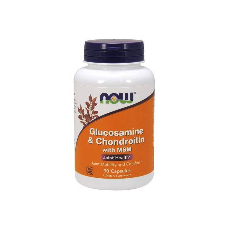 Now Foods Glucosamine & Chondroitin with MSM