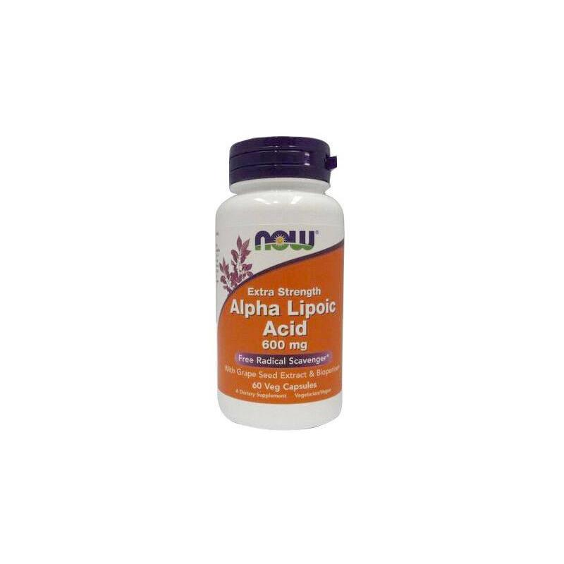 Now Foods Alpha Lipoic Acid 600mg