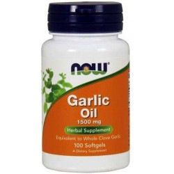 Now Foods Garlic Oil 1500mg