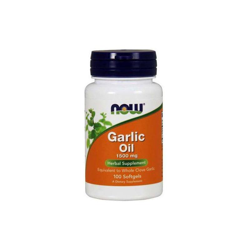 Garlic Oil 1500mg -100  Caps