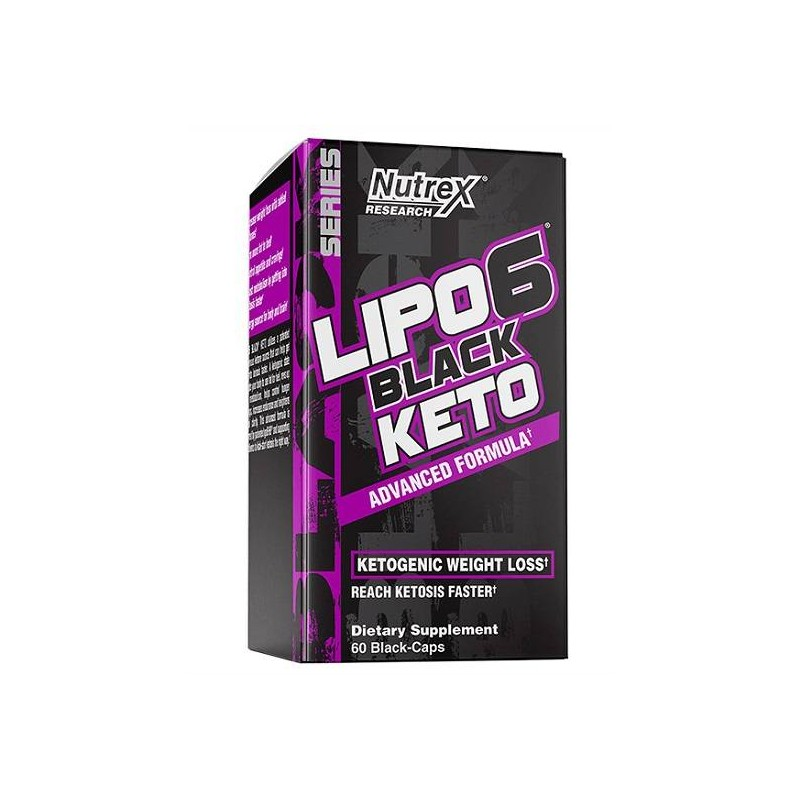 Lipo 6 Black Keto 60 caps