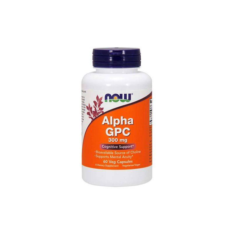 Alpha GPC 300 mg - 60 Vcaps
