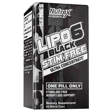 Lipo 6 Black Stim Free 60 caps