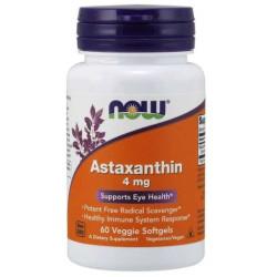 Now Foods Astaxanthin 4mg 60 veggie softgels