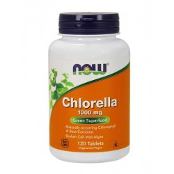 Now Foods Chlorella 1000mg 120 tabs