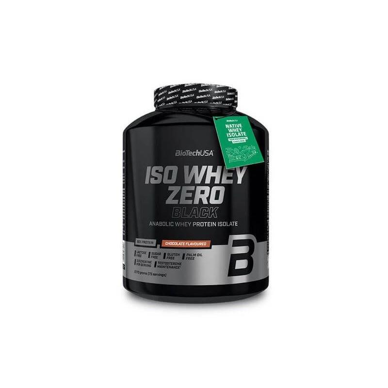 biotech Iso Whey Zero Black 2270g