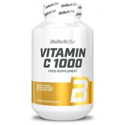 Biotech Vitamin C 1000 Rose Hips 100 tabs