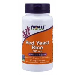 Red Yeast Rice 600 mg - 60...