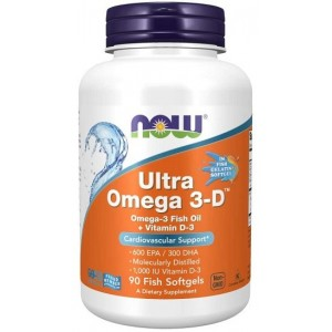 Now foods Ultra Omega 3-D™ - 90 Softgels