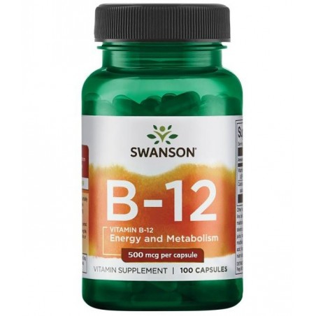 Swanson Vitamin B-12 - 100 caps